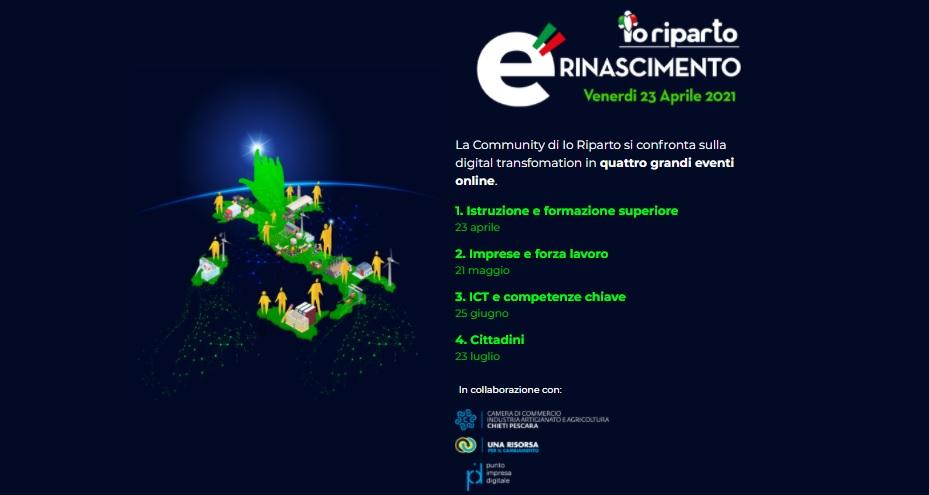 Io Riparto Lab - Digital Rinascimento
