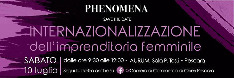 Convegno CIF Phenomena header