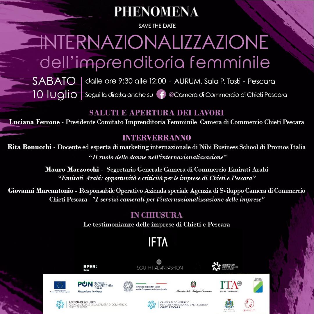 internazionalizzazione dell'impresa femminile